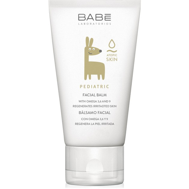 Δώρο Babe Pediatric Facial Balm Καταπραϋντικό, Ενυδατικό, Κρεμώδες Βάλσαμο Προσώπου για την Βρεφική-Παιδική Επιδερμίδα 50ml