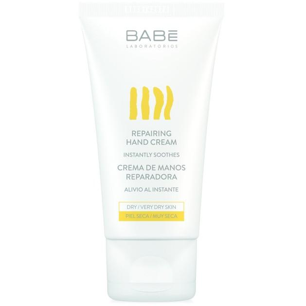 Δώρο Babe Body Repairing Hand Cream Επανορθωτική Κρέμα Χεριών για Ενυδάτωση & Θρέψη στα Ξηρά, Πολύ Ξηρά, Σκασμένα Χέρια 50ml