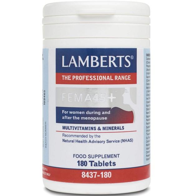 Lamberts Fema 45+ 180 tabs