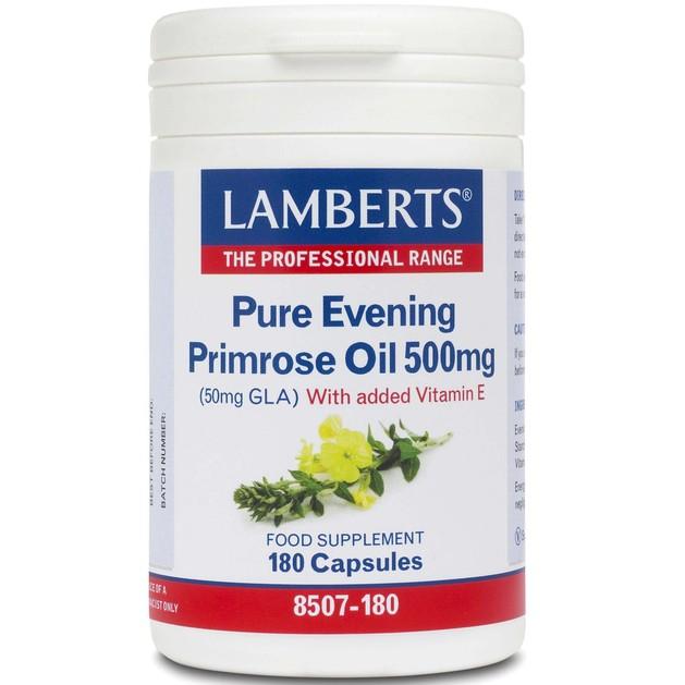 Lamberts Evening Primrose Oil 500mg 180 tabs