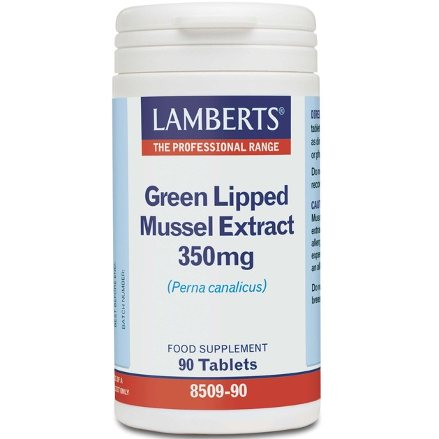 Lamberts Green Lipped Mussel Extract 350mg 90 tabs