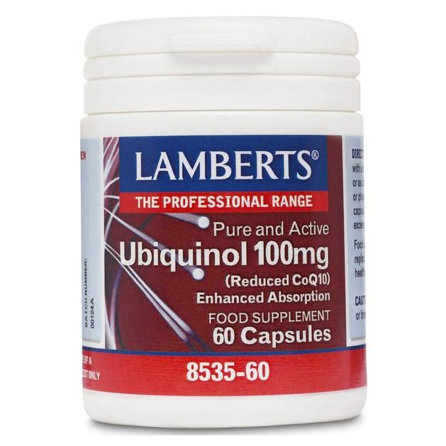 Lamberts Ubiquinol 100mg 60 caps