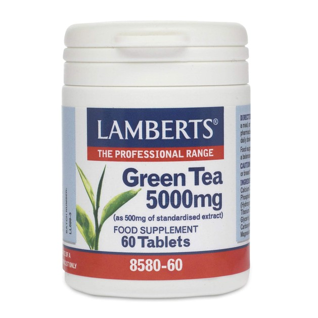 Lamberts Green Tea 5000mg 60 tabs