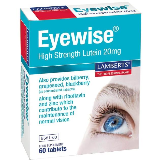 Lamberts Eyewise High Strength Lutein 200mg 60 tabs
