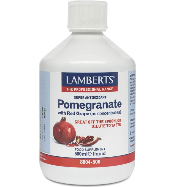 Lamberts Pomegranate Concentrate 500ml Liquid