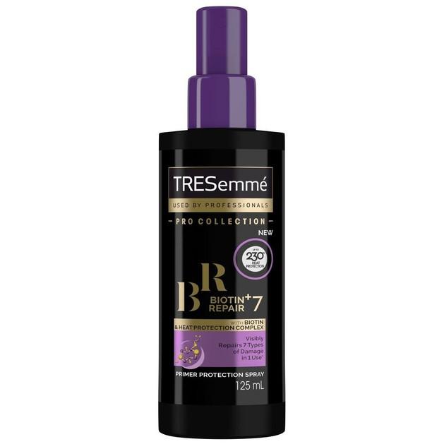 TRESemme Primer Protect Biotin+Repair 7 Προστατευτικό Spray Μαλλιών Κατά της Θερμότητας, Αναδομεί τα Ταλαιπωρημένα Μαλλιά 125ml