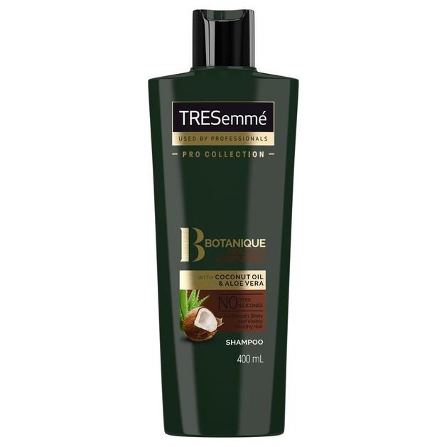 TRESemme Botanique Nourish & Replenish Shampoo Ενυδατικό Σαμπουάν με Έλαιο Καρύδας & Aloe Vera για Ξηρά Μαλλιά 400ml