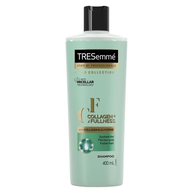 TRESemme Collagen & Fullness Shampoo Σαμπουάν Εμπλουτισμένο με Κολλαγόνο για Περισσότερο Όγκο στα Λεπτά Μαλλιά 400ml