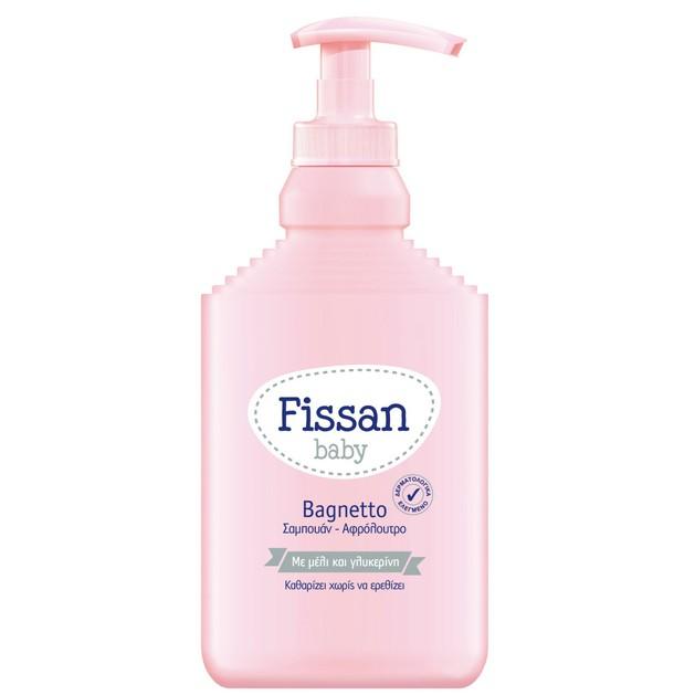 Fissan Baby Bagnetto Σαμπουάν & Αφρόλουτρο με Μέλι & Γλυκερίνη 500ml Προσφορά - 2 €