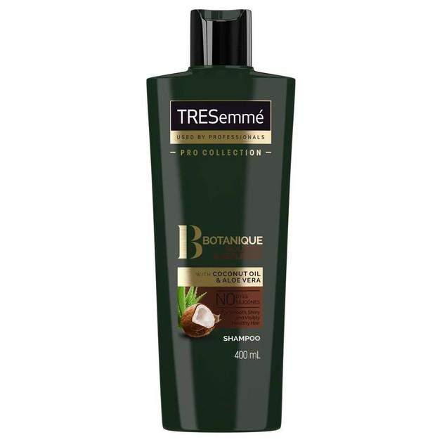 TRESemme Botanique Nourish & Replenish Shampoo Ενυδατικό Σαμπουάν με Έλαιο Καρύδας & Aloe Vera για Ξηρά Μαλλιά 400ml Promo -40%