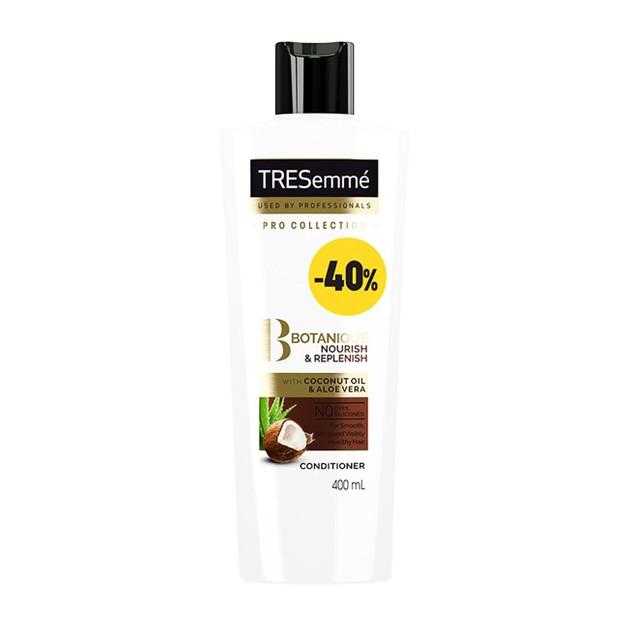 TRESemme Botanique Nourish Replenish Conditioner Ενυδατική Κρέμα με Έλαιο Καρύδας & Aloe Vera για Ξηρά Μαλλιά -40% 400ml