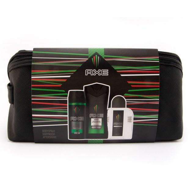 Axe Promo Africa Bodywash 250ml & Body Spray 48h Fresh 150ml & Afteshave 100ml & Νεσεσέρ
