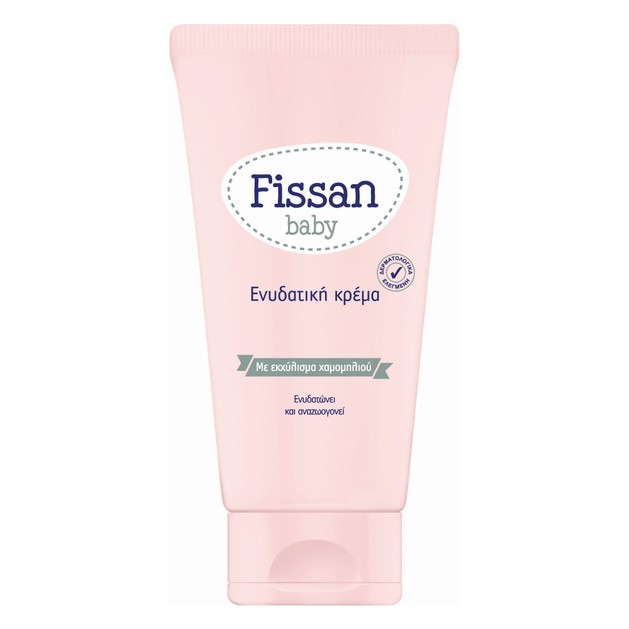 Fissan Baby Ενυδατική Κρέμα Προστατεύει, Ενυδατώνει και Αναζωογονεί το Δέρμα του Μωρού, Προλαμβάνοντας την Ξηρότητα 150ml