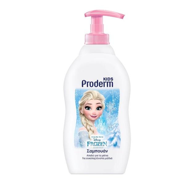 Proderm Kids Frozen Σαμπουάν +3 Ετών για Κορίτσια 400ml