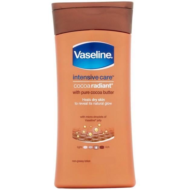 Vaseline Intensive Care Cocoa Radiant Lotion Θρεπτική Λοσιόν Σώματος με Βούτυρο Κακάο 200ml