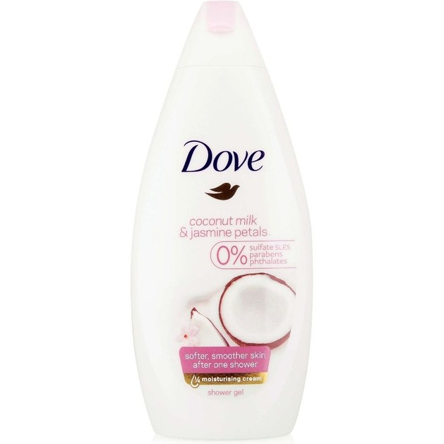 Dove Coconut Milk & Jamine Petals Αφρόλουτρο Με Γάλα Καρύδας Και Πέταλα Γιασεμιού 500ml