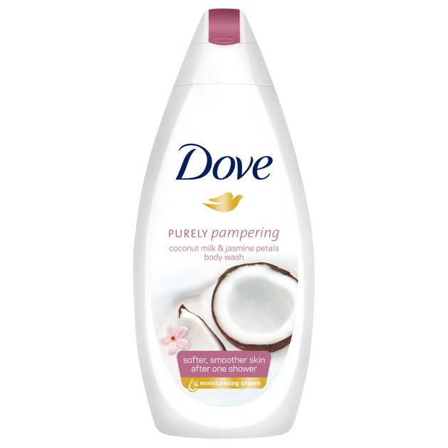 Dove Coconut Milk & Jasmine Petals Body Wash Ενυδατικό Αφρόλουτρο για Απαλή & Βελούδινη Επιδερμίδα από το Πρώτο Ντους 750ml