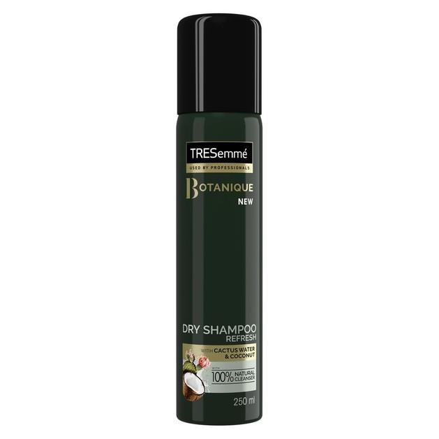 TRESemme Botanique Dry Shampoo Refresh Ξηρό Σαμπουάν Εμπλουτισμένο με Καρύδα & Νερό Κάκτου για Φυσικό Αποτέλεσμα 250ml