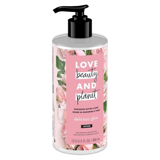 Love Beauty & Planet Muru Muru Butter & Rose Body Lotion Ενυδατικό Γαλάκτωμα Σώματος με Άρωμα Τριαντάφυλλου 400ml