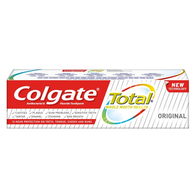 Colgate Total Original Οδοντόκρεμα για Υγιές Στόμα 75 ml