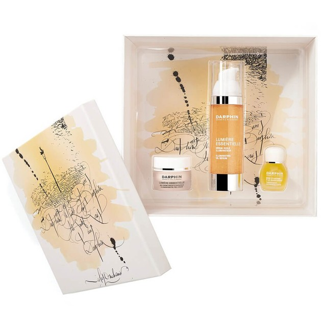 Holiday Set Lumiere Essentielle Serum 30ml & Lumiere Gel-Cream 5ml & Tangerine 4ml - Darphin
