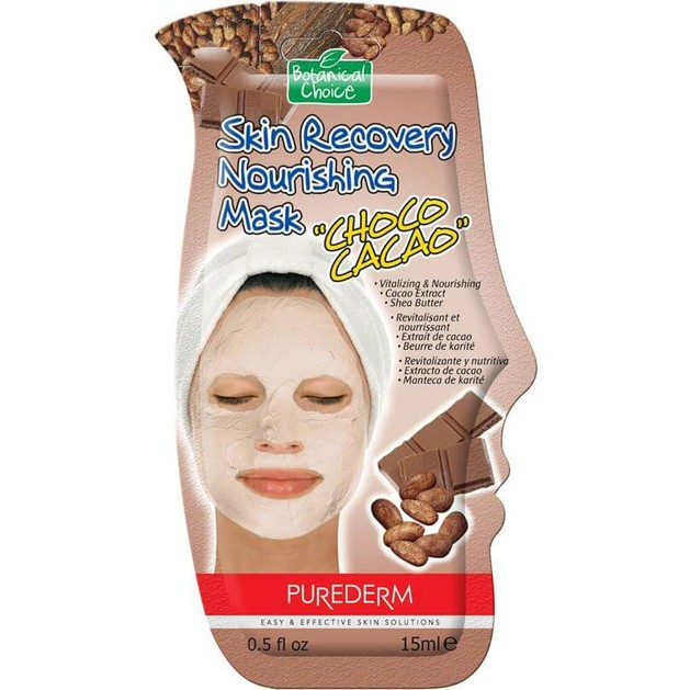 Vican Purederm Skin Recovery Nourishing Mask Choco Cacao 15ml