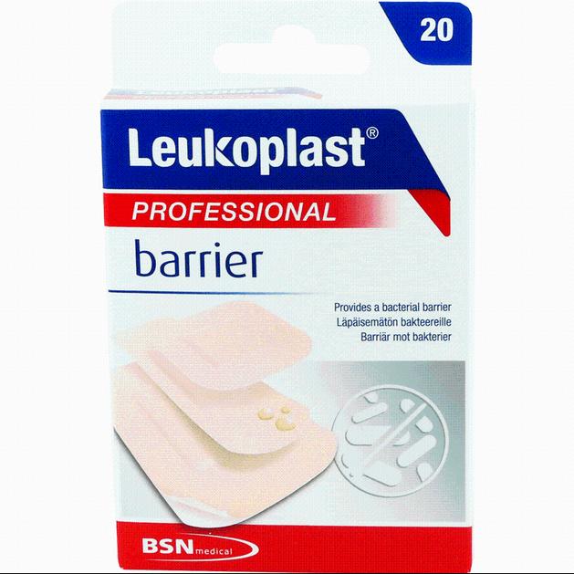 BSN Medical Leukoplast Professional BarrierΑδιάβροχαΑυτοκόλλητα Επιθέματα σε 3Μεγέθη 20 Τεμάχια