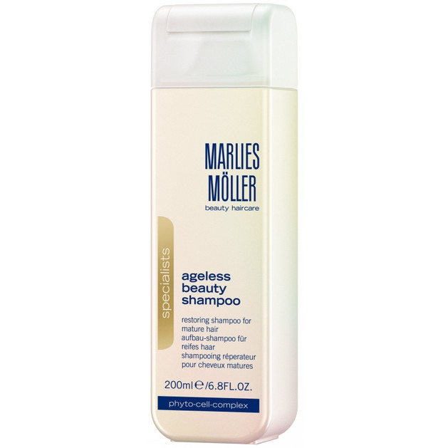 Marlies Moller Specialists Ageless Beauty Shampoo Αντιγηραντικό Σαμπουάν Αναδόμησης για Λεπτά & Αδύναμα Μαλλιά 200ml