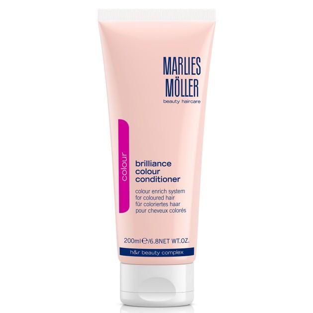 Marlies Moller Color Brilliance Colour Conditioner Μαλακτική Κρέμα Λάμψης & Προστασίας του Χρώματος στα Βαμμένα Μαλλιά 200ml