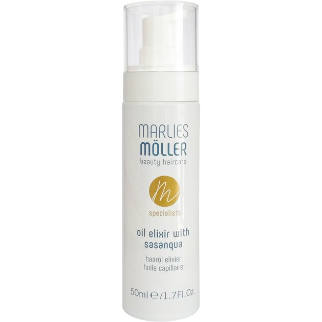 Marlies Moller Spesialists Oil Elixir With Sasanqua Ελιξίριο Περιποίησης Μαλλιών με Πολύτιμα Έλαια Πολλαπλής Δράσης 50ml