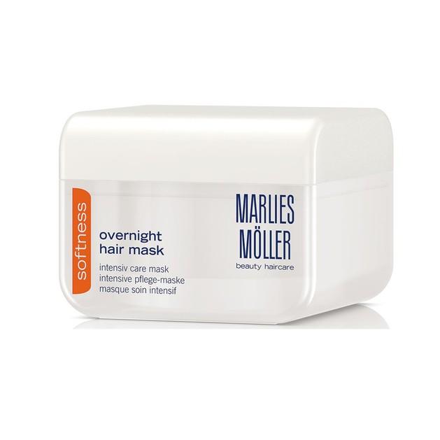 Marlies Moller Softness Overnight Hair Mask Μάσκα Εντατικής Θρέψης & Απαλότητας στα Άτονα Ξηρά Μαλλιά 125ml