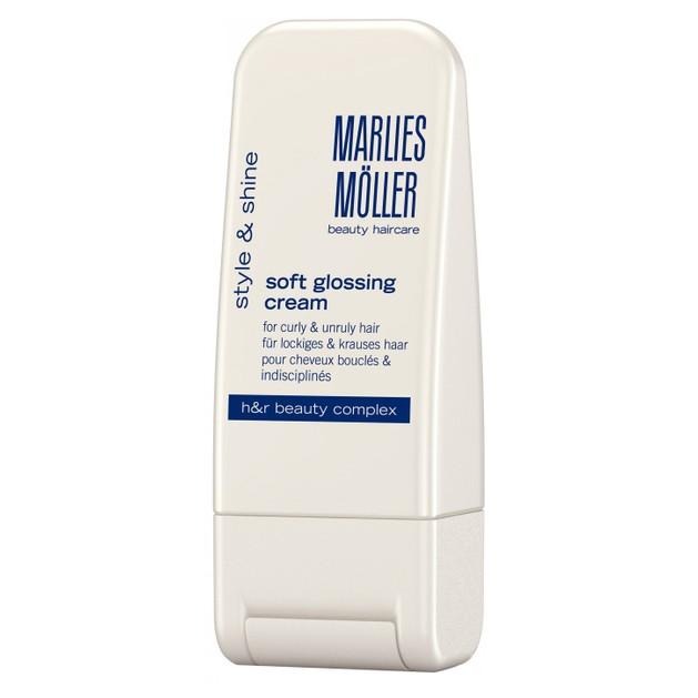 Marlies Moller Style & Shine Soft Glossing Cream Κρέμα Styling που Τιθασεύει τα Μαλλιά & Χαρίζει Υγιή Λάμψη 100ml