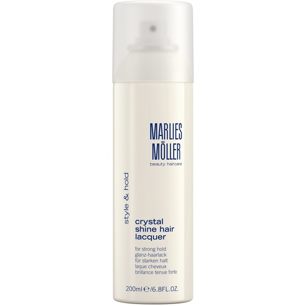 Marlies Moller Style & Hold Crystal Shine Hair Lacquer Λακ Μαλλιών για Πολύ Δυνατό Κράτημα 200ml