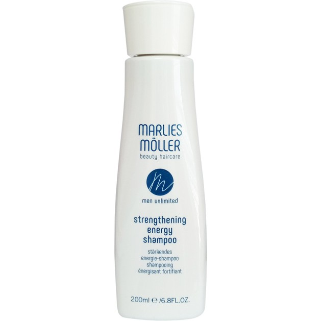 Marlies Moller Men Unlimited Strengthening Energy Shampoo Ανδρικό Σαμπουάν για Δυνατά Μαλλιά Γεμάτα Ζωντάνια 200ml