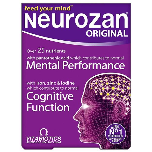 Vitabiotics Neurozan Original Μικροθρεπτικά Συστατικά για την Εγκεφαλική Λειτουργία 30caps
