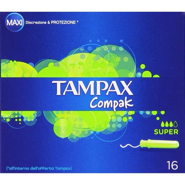 Tampax Compak Pearl Super 16 τεμάχια