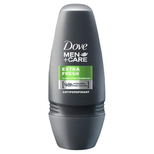 Dove Deo Roll On Men Care Extra Fresh Ανδρικό Αποσμητικό, Δυνατή Προστασία Κατά του Ιδρώτα & Έντονη Αίσθηση Φρεσκάδας 50ml