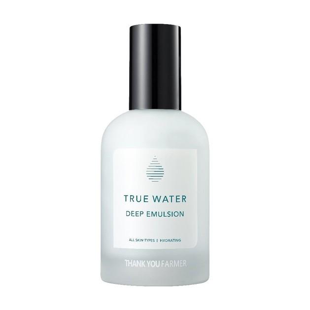 Thank You Farmer True Water Deep Emulsion Ενυδατικό Γαλάκτωμα Θρέψης 130ml