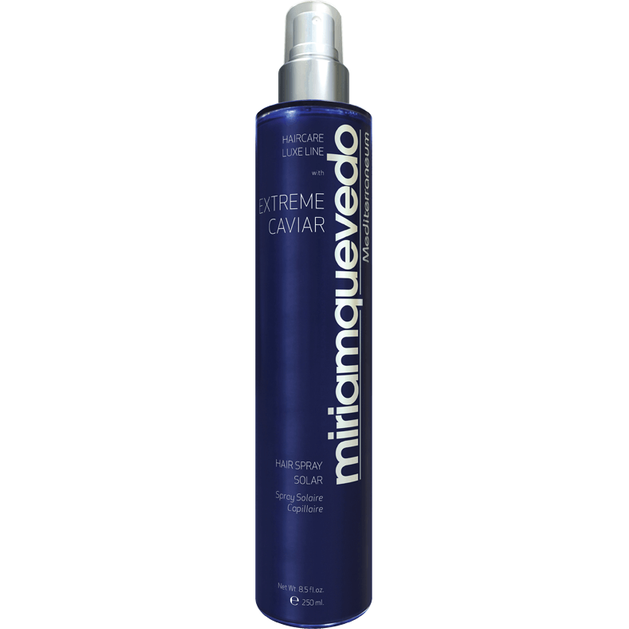 Miriam Quevedo Extreme Caviar Spray Multi Protection Hair Spray Solar Πολυτελές Σπρέι Προστασίας 250ml
