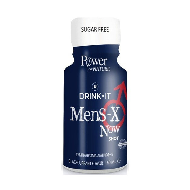 Power Health Drink It Mens-X Now Συμπλήρωμα Διατροφής για τη Στυτική Δυσλειτουργία 60ml