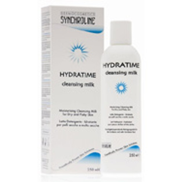 Synchroline Hydratime Cleansing Milk Γαλάκτωμα Καθαρισμού Προσώπου Και Λαιμού 250ml