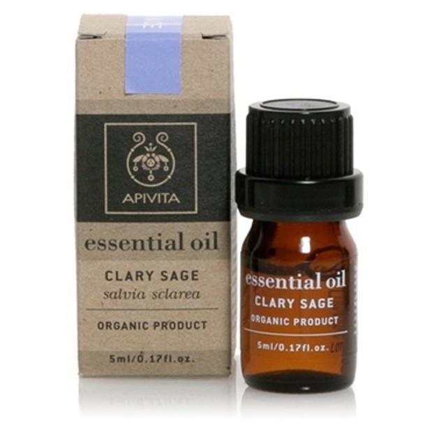 Apivita Essential Oil Clary Sage Φασκόμηλο 5ml
