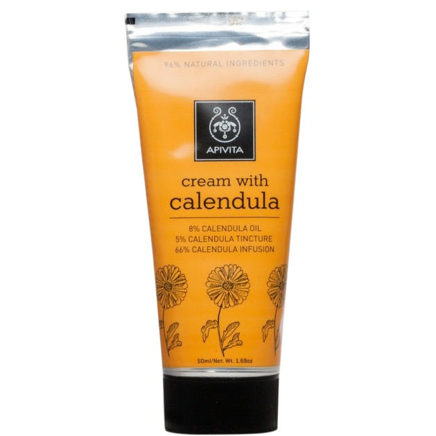 Herbal Cream With Calendula 50ml - Apivita