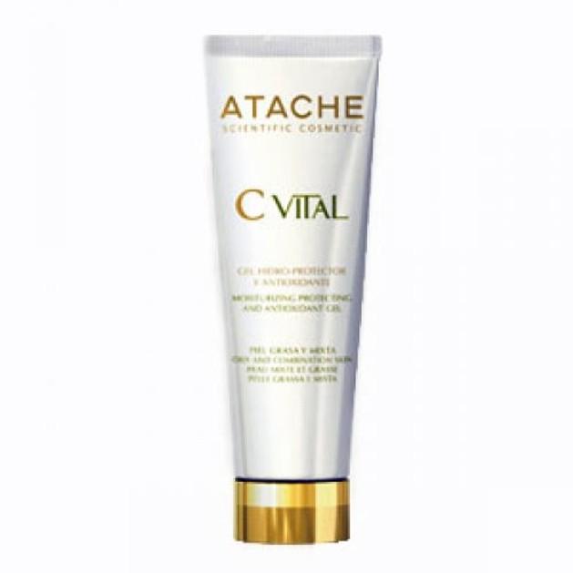 Atache C Vital AHA Cream Hidro-Protector Ενυδατική κρέμα - gel για μικτές-λιπαρές επιδερμίδες 50ml