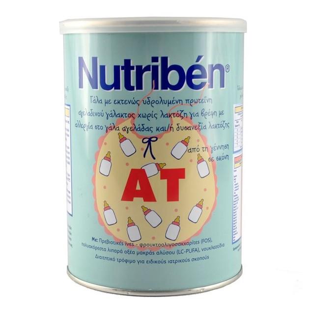 Nutriben AT Γάλα Για Βρέφη Απο Την Γέννηση Σε Σκόνη Χωρίς Λακτόζη 400gr