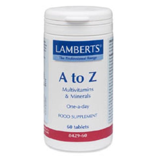 Lamberts A-Z Multi Vitamins Φόρμουλα Πολυβιταμίνης