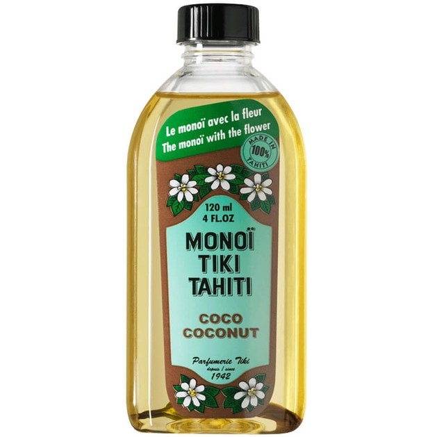 Monoi Tiki Tahiti Coco Coconut Λάδι για Ενυδάτωση Προσώπου, Σώματος & Μαλλιών, με Άρωμα Εξωτικής Καρύδας 120ml