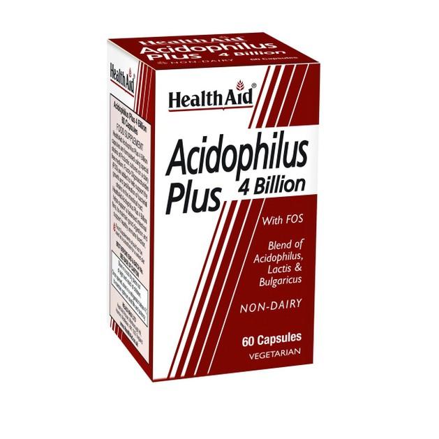 Health Aid Acidophilus Plus 4 bilion  60caps