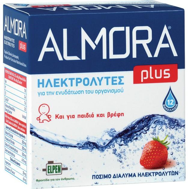 Elpen Almora Plus Powder Ηλεκτρολύτες 12 Φακελλάκια