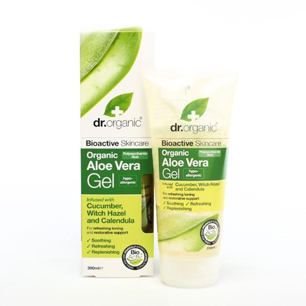 Dr.Organic Aloe Vera Gel with Cucumber & Witch Hazel 200ml